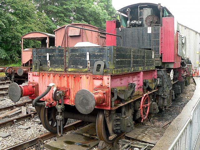 95206, Ingrow, June 2007 - A Close-up View of the Bogie
