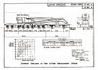Diagram, Cowans Sheldon 45-ton Crane (Steam)