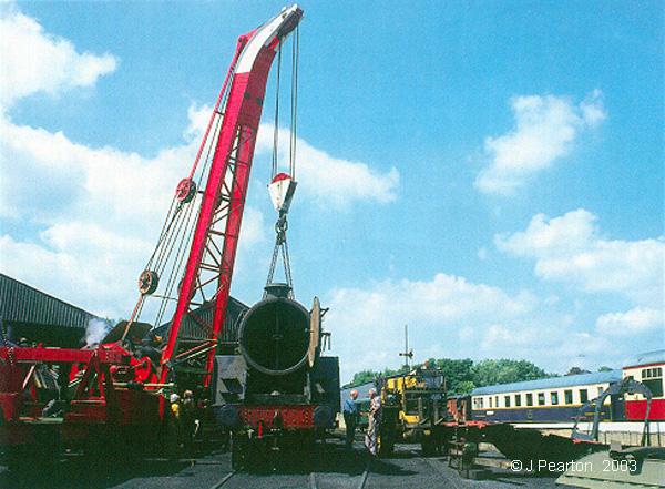1931 Ransomes & Rapier 36/40-ton Breakdown Crane LMS No  MP3